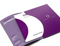 Presentation Folder & Booklet Example