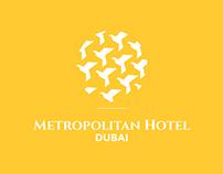 Logo redesign proposal for Metropolitan Hotel Dubai