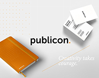 Publicon - agency rebranding