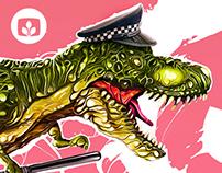 Dino Crisis | Desktopography 2015