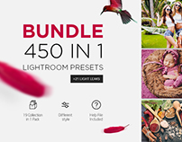 450+ Lightroom Presets