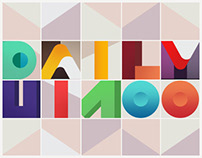 Daily UI Challenge (#dailyui) 1-100