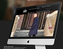 Corporate website for the clothing manufacturer.