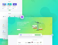 weForms Adwords Landing Page Design