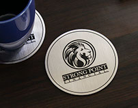 Brushed Stainless Steel Coaster