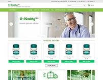 Online Pharmacy (Web Design - Logo design)