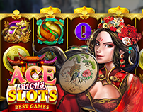 Chinese style slots design