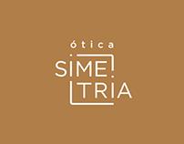 Ótica Simetria - Identidade Visual