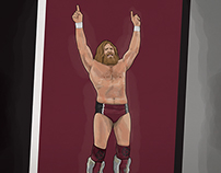 Pro-Wrestling illustrations