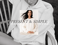 PRESENT&SIMPLE — e-commerce redesign concept