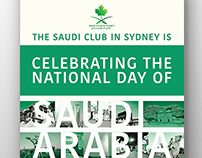 Saudi Sydney Club Event Poster