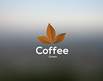 Coffee Dream \ Logo Branding Project.