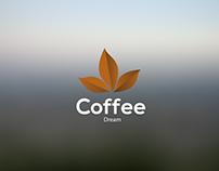 Coffee Dream \ Logo Branding Project.