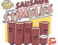 "T-SHIRT - ""Sausage Stimulus"""
