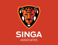 SINGA Associates Branding