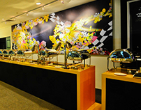 Wall Mural for Singapore F1 Grand Prix