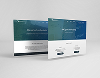 IMG Recruitment 2016 Website Design