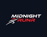 MIDNIGHT RUNR LOGO DESIGN