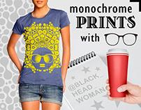 BHW monochrome prints