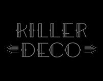 Killer Deco Font