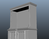 dining room cabinet for game internship