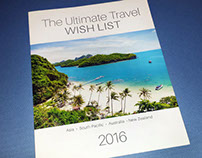 The Ultimate Travel Wish List Brochure - 2016