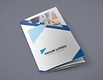 Brochure – Triangle Multipurpose Tri-Fold Template
