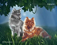 Illustration for the mobile game WildCraft