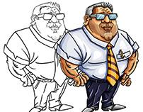 Karikatür | Anadolu Ulaşım | web/mobil oyun karakteri