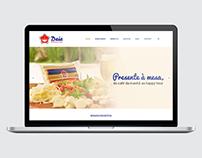 Site Daia Alimentos