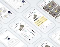 Aladin Smart Sofa App UI UX Design