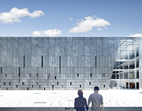 Museum of Contemporary Art in Poznan, Poland