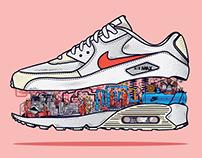 Inside Nike Air Max.