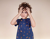 Patterns for children clothing brand