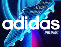 Adidas Speed of light - Messi 16+