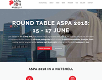 Round Table ASPA website and social marketing