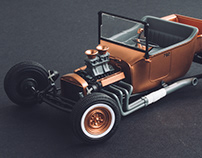 The Copper T / Scale Model