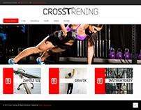 Projekt strony - Crosstrening.pl