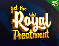 Royal Treatment Sale