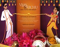 Rechu weds Vijay