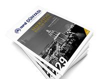 """""""World of Nurol"""" Magazine Concept Redesign"""