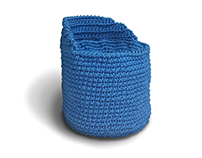 Baby Blue / Crocheted Seating