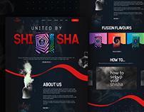 SHISHA- Web design
