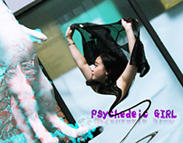 Experimental Psychedelic GIRL [Digital Portraits]