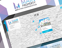 "Simple and minimalistic site design the""MAIN PROPERTY"""