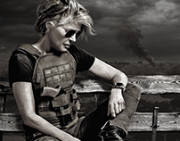 Terminator Dark Fate for Vanity Fair