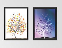 Desenvolvimento de artes para quadros