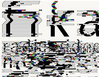Typeface: Noise