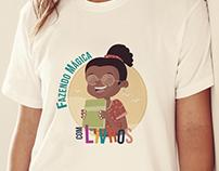 Logo campanha de doação de Livros