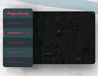 Daily UI No. 20 | Location Tracker